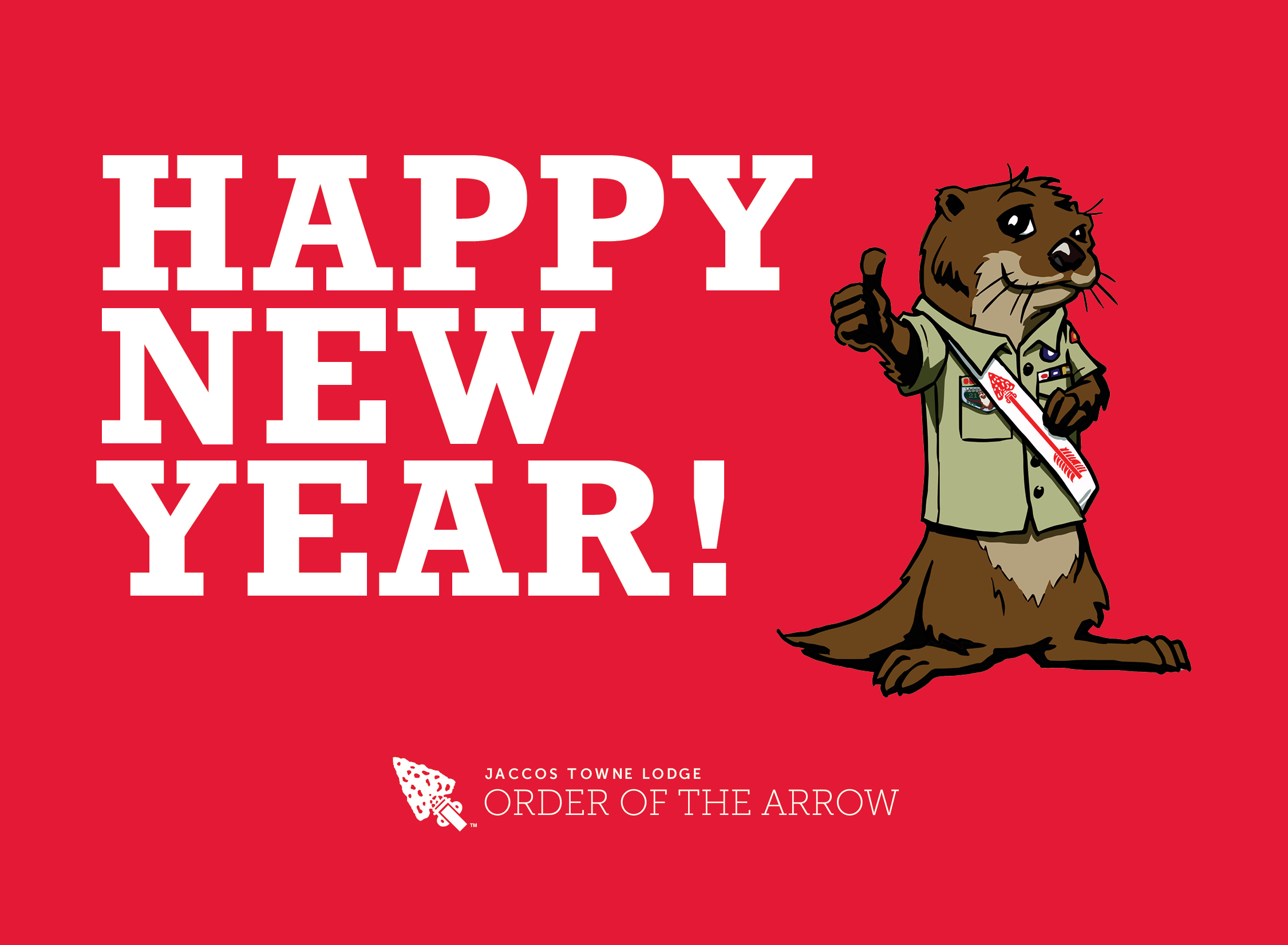 Happy New Year from Jaccos Towne Lodge